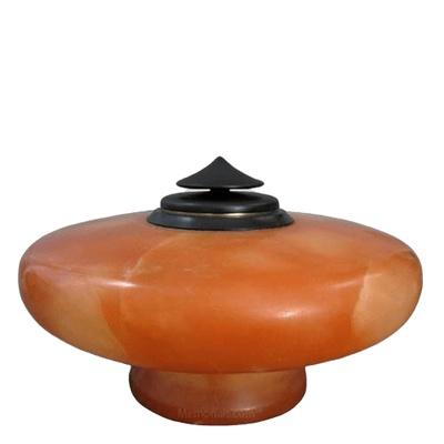 Xanadu Alabaster Cremation Urn