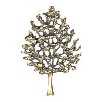 Antique Gold Tree Of Life Emblem
