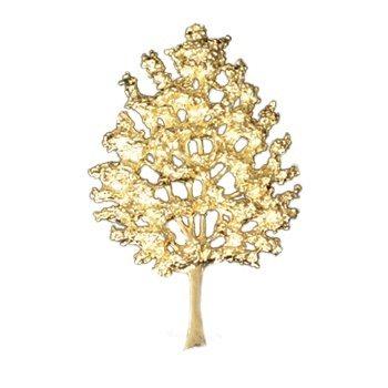 Gold Tree Of Life Emblem