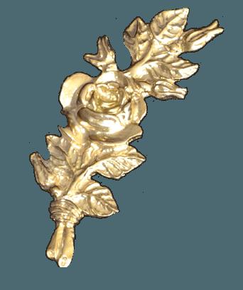 Gold Flower Bundle Emblem