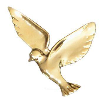 Gold Small Dove Emblem II