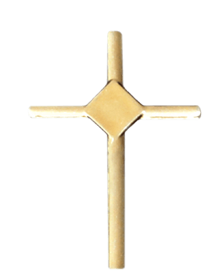 Gold Small Cross Emblem