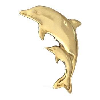 Gold Dolphin Emblem