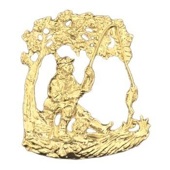 Gold Fisherman Emblem