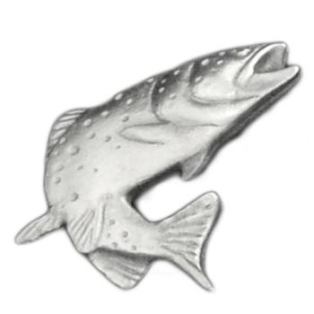 Silver Trout Emblem