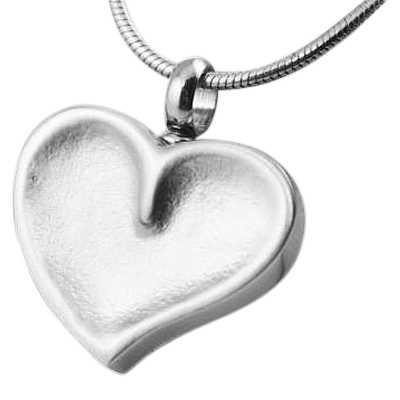 Imprint Of My Heart Cremation Jewelry