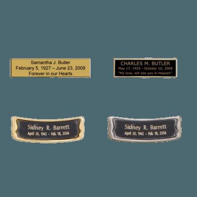 Close to God White & Bronze Cremation Urn