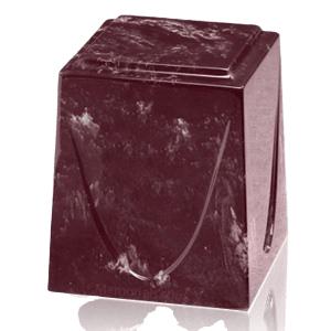Merlot Saturn Marble Cremation Urn
