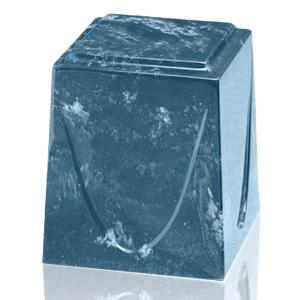 Sapphire Saturn Marble Cremation Urn