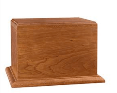 Ambassador Wood Cremation Urn