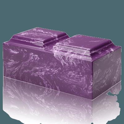Amethyst Marble Companion Urn