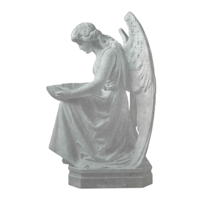 Angel Offering Granite Statue VI
