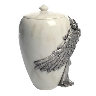 Embrace Angel Large Urn