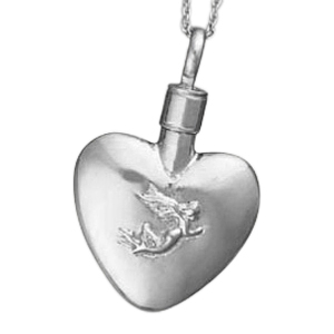 Angel Heart Keepsake Pendant