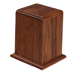 Anthony Wood Cremation Urn II