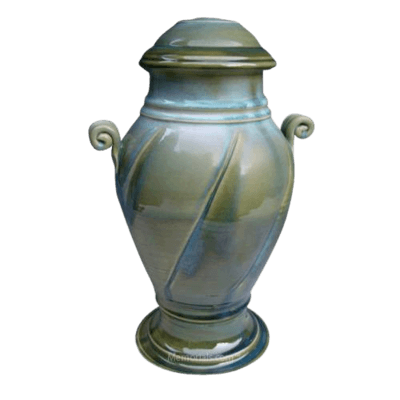 Las Cruces Art Cremation Urn