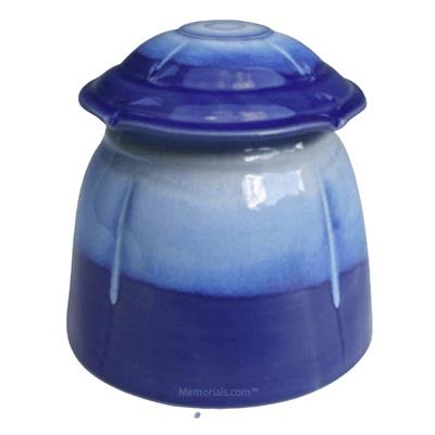 Ecuador Art Cremation Urn