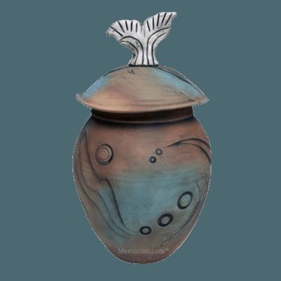Alamo City Art Cremation Urn