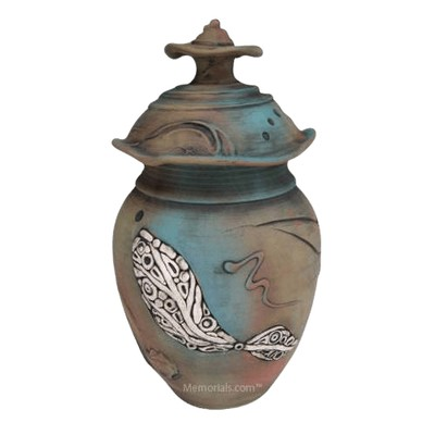 Taos Art Cremation Urn