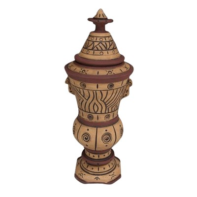 Cabo Rojo Art Cremation Urn