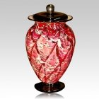 Fireflies Glass Cremation Urn