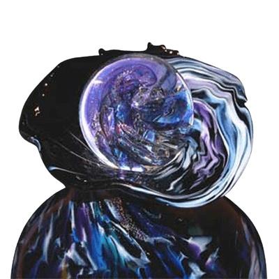 Fusic Keepsake Glass Cremation Urn
