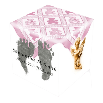 Baby Girl Cremation Urn