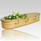 Bamboo Green Burial Caskets