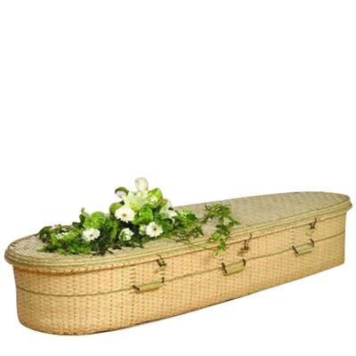 Bamboo Green Casket