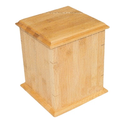 Bamboo Wood Cremation Urn