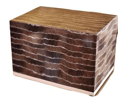 Bark Wood Cremation Urn