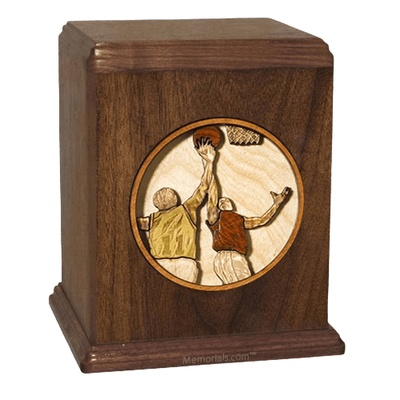 Basketball Cremation Urn