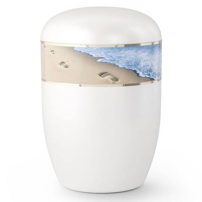 Beach Stroll Biodegradable Urn