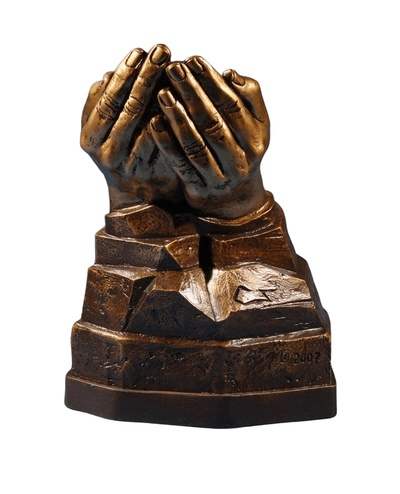 Unique Open Hands Urn