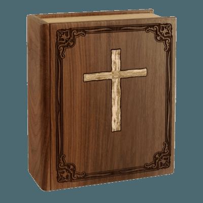 Bible Cremation Urn