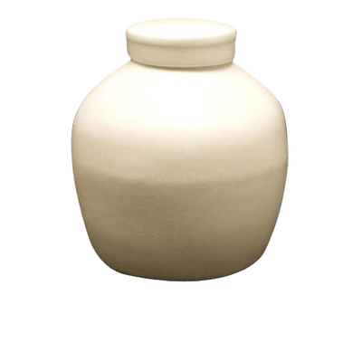 Basic Cream Biodegradable Urn