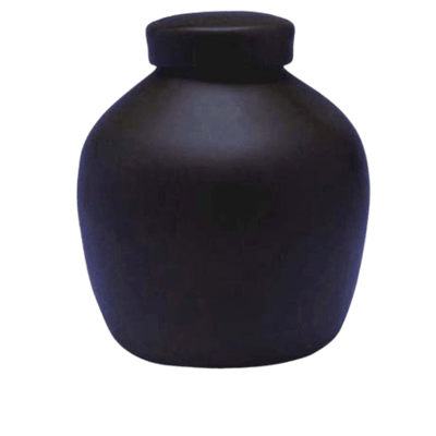Dark Blue Biodegradable Urn