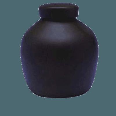 Dark Blue Biodegradable Urn