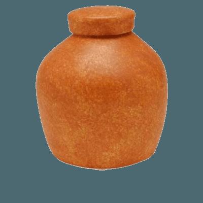 Terra Cota Biodegradable Urn