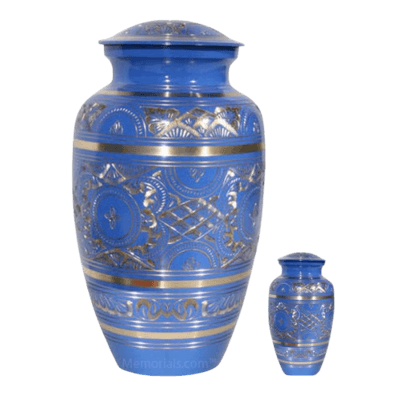 Blue Swan Cremation Urns