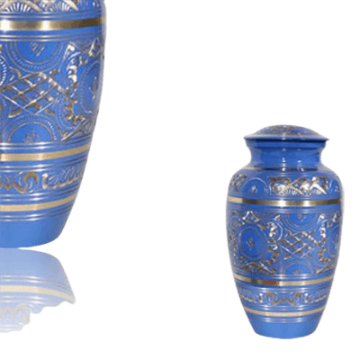 Blue Swan Keepsake Cremation Urn