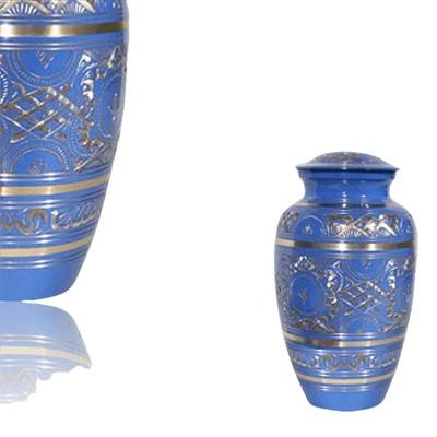 Blue Swan Keepsake Cremation Urn