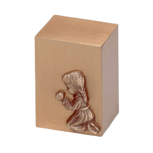Praying Girl Infant Cremation Urn