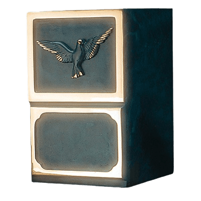 Artisan Dove Bronze Cremation Urn
