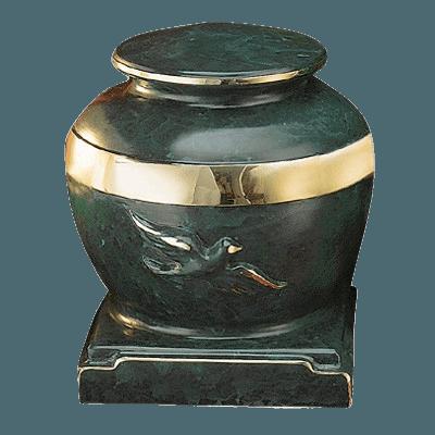Eternal Patina Bronze Cremation Urn
