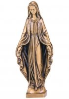 Mary Small Bronze Statues