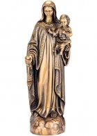 Virgin Mary Bronze Statues