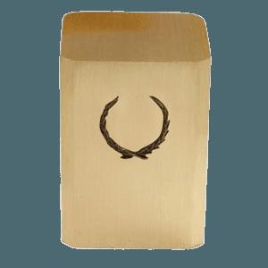 Wreath Bronze Cremation Urn