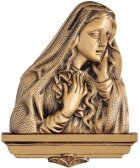 Lost Mary Wall Bronze Statues