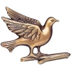 Dove Wall Bronze Statues II